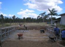 Classic Majestic Oval Pool
